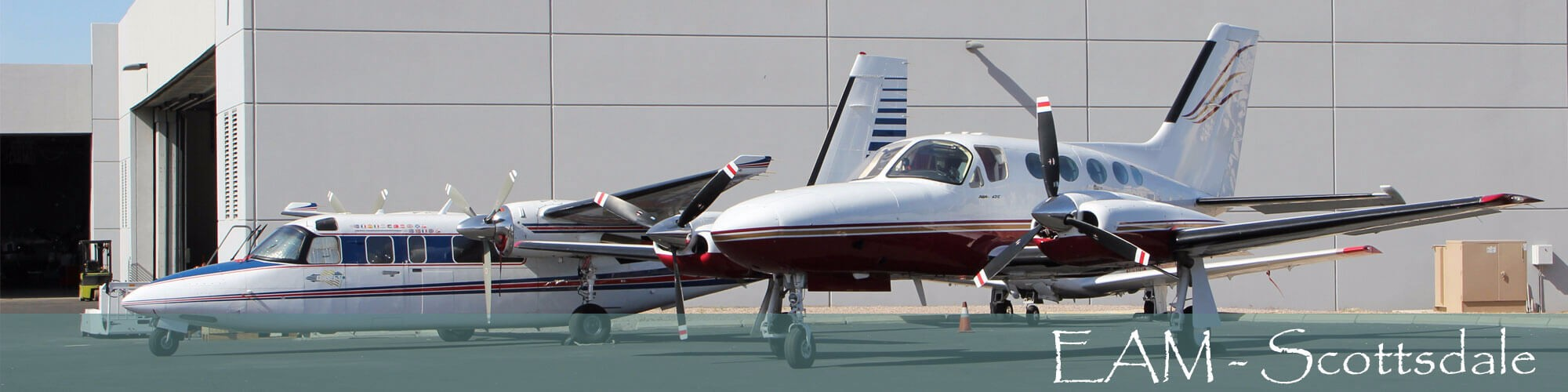 EAM-Scottsdale—Turboprop-airframe and engine service