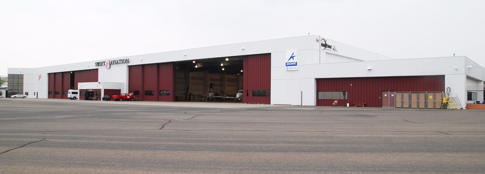 EAM's Phoenix Sky Harbor location – Swift Aviation FBO Hangar